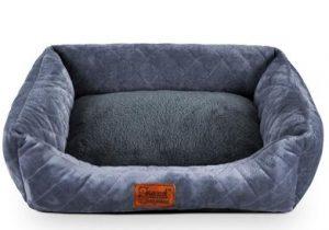 Soft sofa dog bed