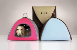 Dog dome bed