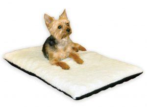 Heated dog orthopaedic bed