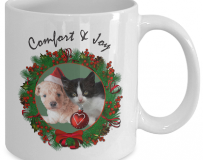 christmas pet mugs